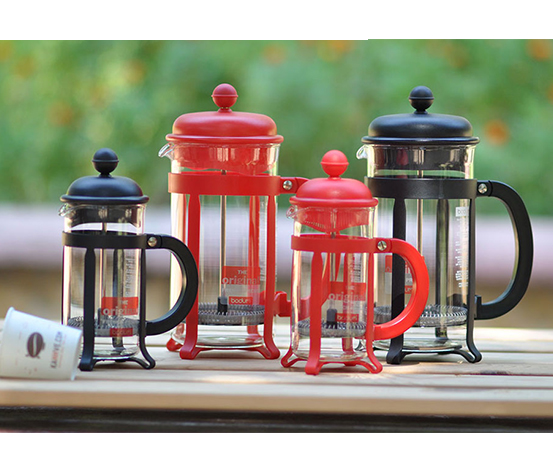 Kırmızı Bodum Java French Press 0.35 L