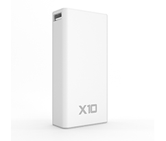 Hometech Beyaz X10 Mini Powerbank 10.000mAh