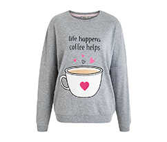 Gri Coffee Sweatshirt